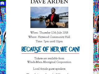 Dave Arden in Concert