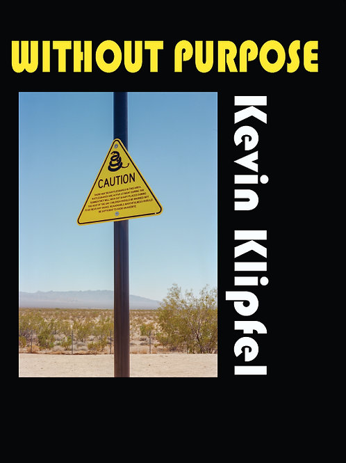 """""""Without Purpose"""" by Kevin Klipfel"""