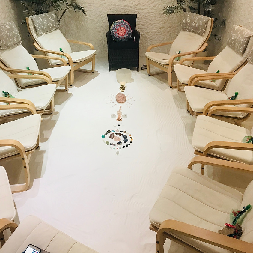 Guided Crystal Meditation in the Salt Room