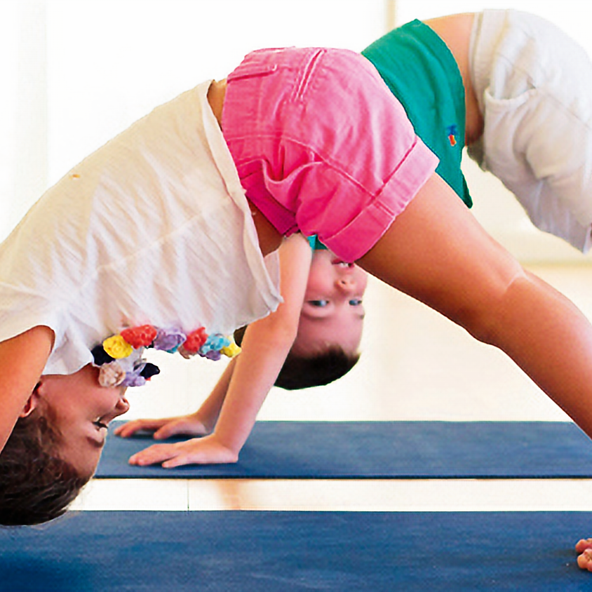 Mindful fun with Kid's Yoga in the Salt Room!