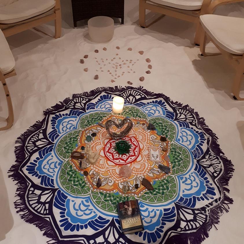 Guided Crystal Meditation in Salt Room
