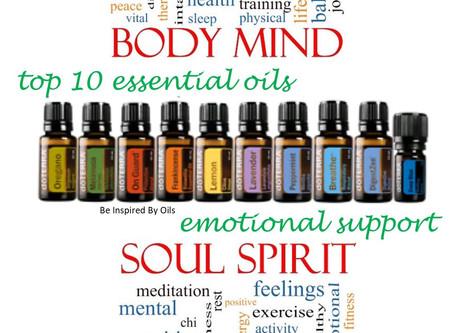 Top 10 Essential Oils for Mood Management