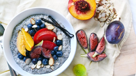 Deliciously Healthy Breakfast with Chia Seeds - FREE RECIPE from Allwell Natural Healing
