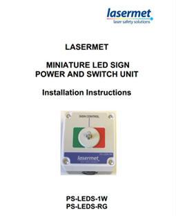 Mini Sign Power Supply Instruction Manual