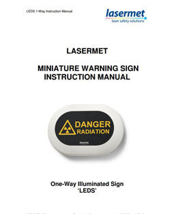 Mini Sign On-Way Instruction Manual