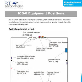 ICS-6 Equipment Positions