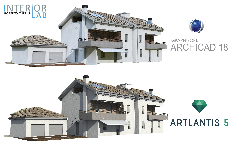 Archicad 18 cinerender vs artlantis 5 for Programma rendering free