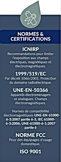 Normes et Certifications MurGuard