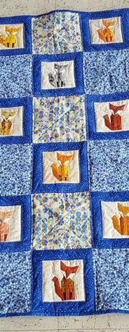 Paper Pieced Foxes