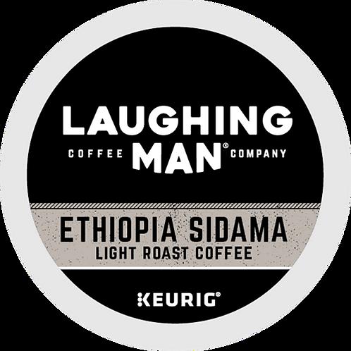 Laughing Man® Ethiopia Sidama Coffee - K-Cup® - Regular - LT Roast - 16ct