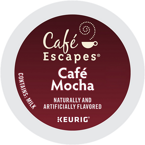 Café Escapes® Café Mocha - K-Cup® - Regular - Specialty - 24ct