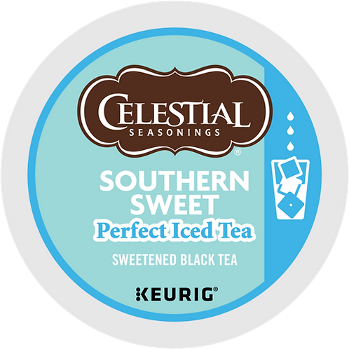 Celestial® Southern Sweet Perfect Iced Tea - K-Cup® - Regular - Black Tea - 22ct