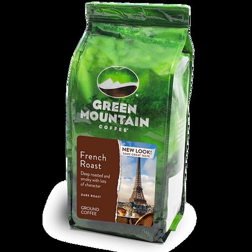 Green Mountain® French Roast - Bag - Regular - Dark Roast - 12oz Ground