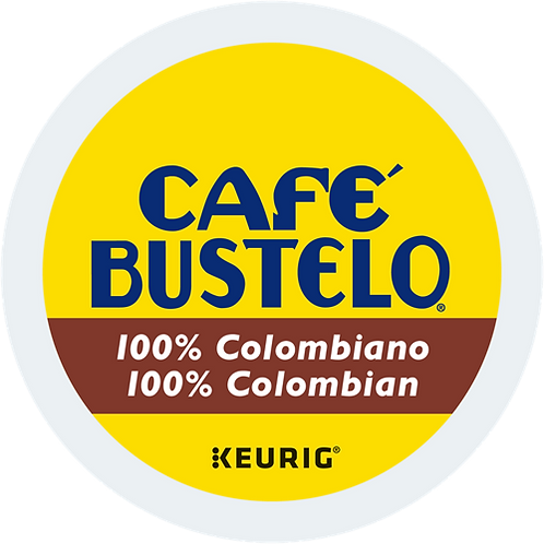 Café Bustelo® 100% Colombian Coffee - K-Cup® - Regular - Med Roast - 24ct