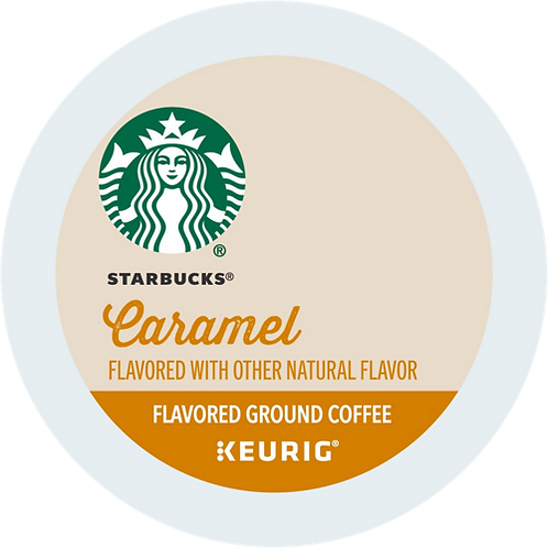 Starbucks® Caramel Coffee - K-Cup® - Regular - Med Roast - 16ct