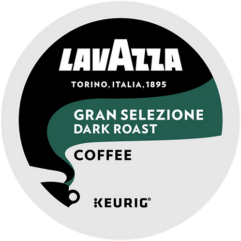 Lavazza® Gran Selezione Coffee - K-Cup® - Regular - Dark Roast - 22ct