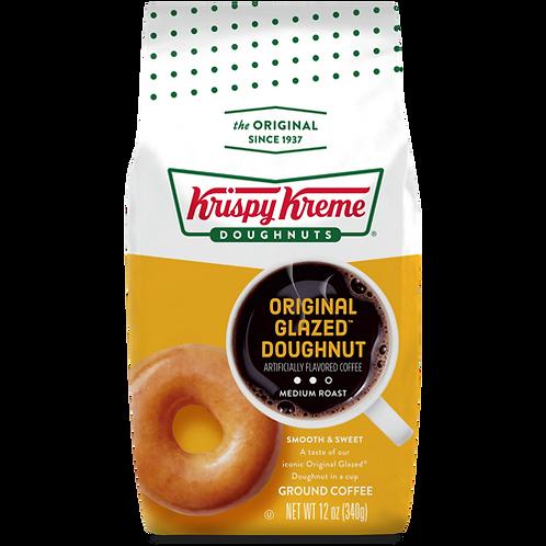Krispy Kreme Original Glazed™ Doughnut Coffee - Bagged - Regular - 12oz Ground