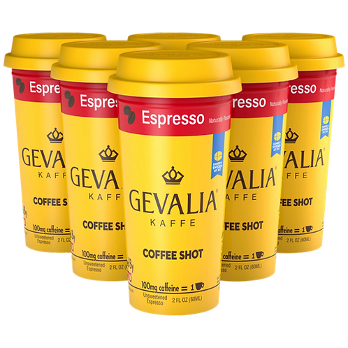 Gevalia Kaffe® Espresso Coffee Shot - Coffee Shots - Regular - 6ct