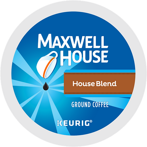 Maxwell House® House Blend Coffee - K-Cup® - Regular - Med Roast - 6ct