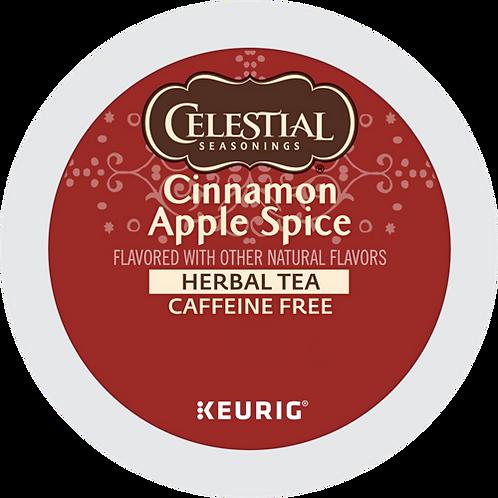 Celestial® Cinnamon Apple Spice Herbal Tea - K-Cup® - Decaf - Herbal Tea - 24ct