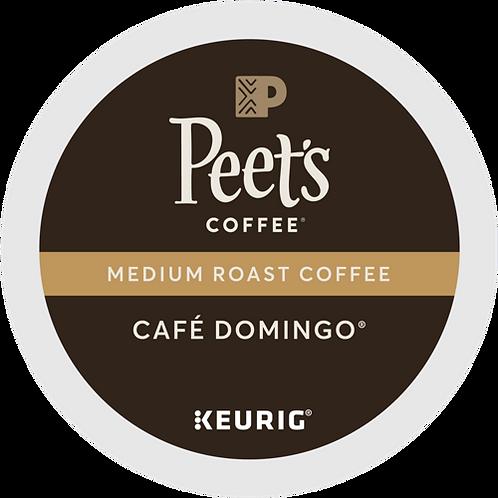 Peet's® Cafe Domingo® Coffee - K-Cup® - Regular - Med Roast - 6ct