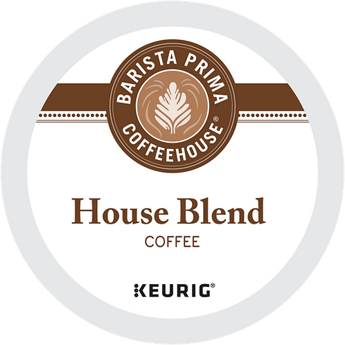 Barista Prima® House Blend Coffee - K-Cup® - Regular - 24ct