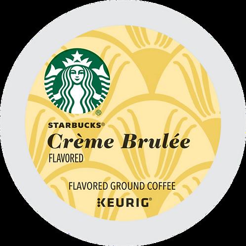 Starbucks® Creme Brulee Coffee - K-Cup® - Regular - LT Roast - 16ct