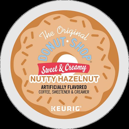 Donut Shop Sweet & Creamy Nutty Hazelnut Coffee - KCup® - Med Roast - 16ct