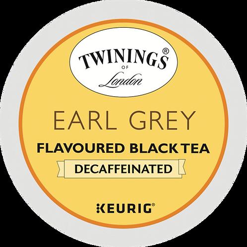 Twinings® Earl Grey Decaf Tea - K-Cup® - Decaf - Black Tea - 24ct