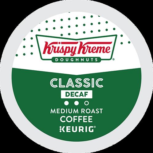Krispy Kreme® Doughnut Classic Decaf Coffee - K-Cup® - Decaf - 24ct