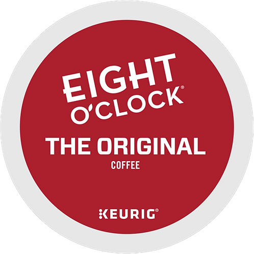 Eight O'Clock® The Original Coffee - K-Cup® - Regular - Med Roast - 24ct