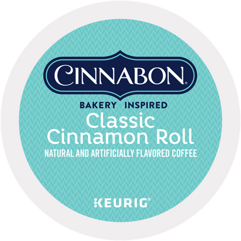 Cinnabon® Classic Cinnamon Roll Coffee - K-Cup® - Regular - LT Roast - 24ct
