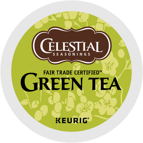 Celestial® Natural Antioxidant Green Tea - K-Cup® - Regular - Green Tea - 24ct