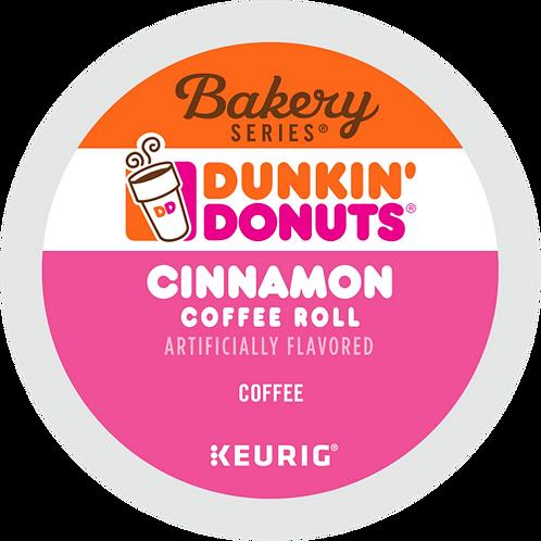 Dunkin' Donuts Cinnamon Coffee Roll Coffee - K-Cup® - Regular - Med Roast - 24ct
