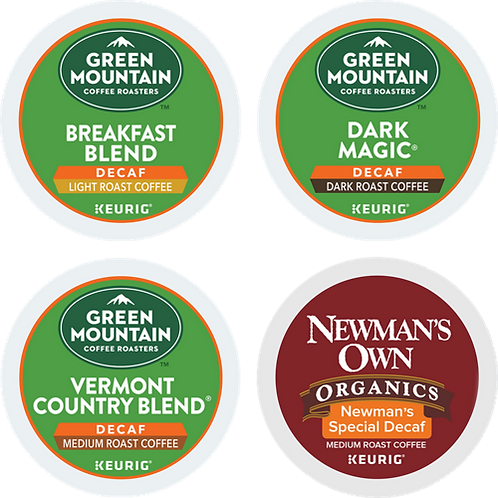 Green Mountain® Variety Decaf Coffee Box - K-Cup® - Decaf - Decaf - 22ct