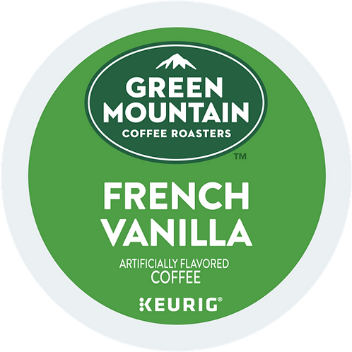 Green Mountain® French Vanilla Coffee - K-Cup® - Regular - LT Roast - 24ct