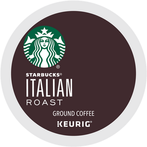 Starbucks® Italian Roast Coffee - K-Cup® - Regular - Dark Roast - 6ct
