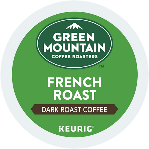 Green Mountain® French Roast Coffee - K-Cup® - Regular - Dark Roast - 24ct