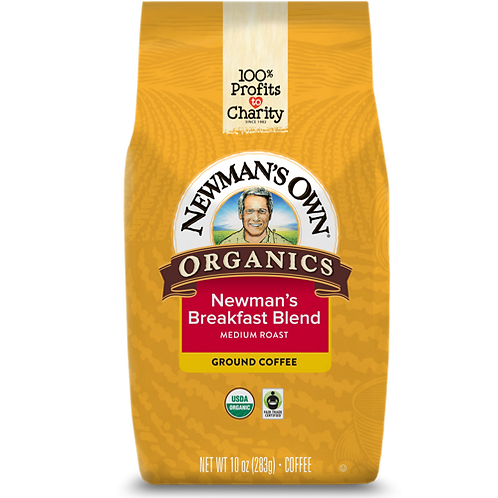 Newman's Own® Breakfast Blend - Bagged - Regular - Med Roast - 10oz Ground