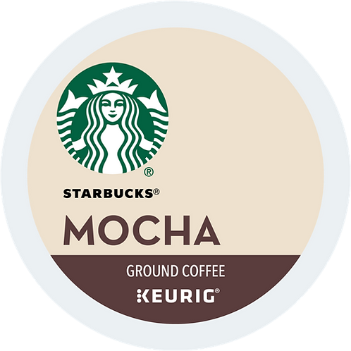 Starbucks® Mocha Coffee - K-Cup® - Regular - Med Roast - 16ct