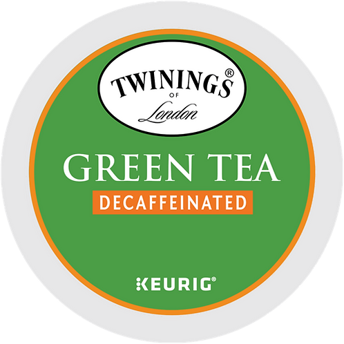 Twinings® Decaffeinated Green Tea - K-Cup® - Decaf - 24ct