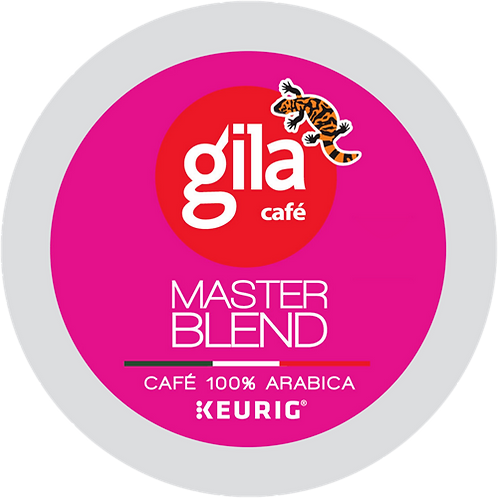 Café Gila® Master Blend Coffee - K-Cup® - Regular - Dark Roast - 12ct