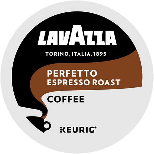 Lavazza® Perfetto Coffee - K-Cup® - Regular - Dark Roast - 22ct