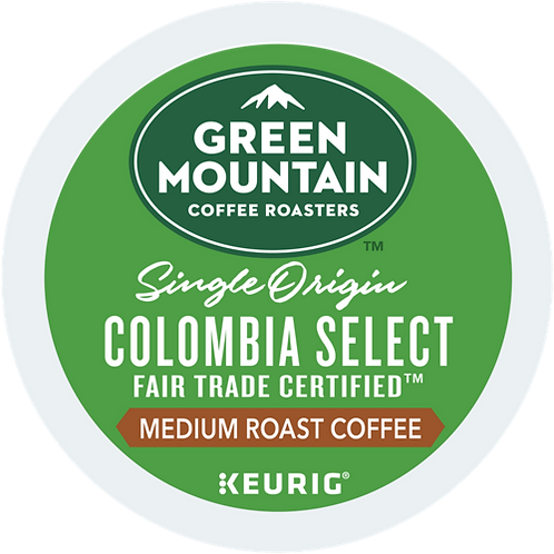 Green Mountain® Colombia Select Coffee - K-Cup® - Regular - Med Roast - 72ct