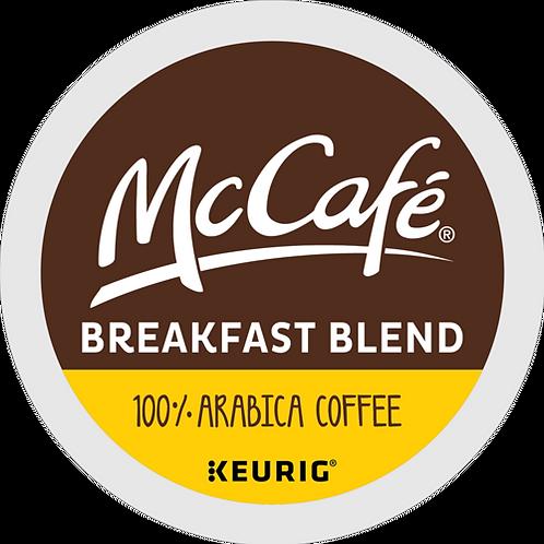 McCafe® Breakfast Blend Coffee - K-Cup® - Regular - 24ct