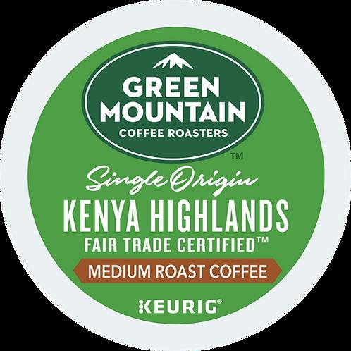 Green Mountain® Kenya Highlands Coffee - K-Cup® - Regular - Med Roast - 24ct