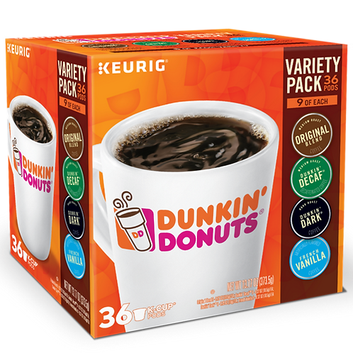 Dunkin' Donuts® Dunkin Donuts® Variety Pack - K-Cup® - 36ct