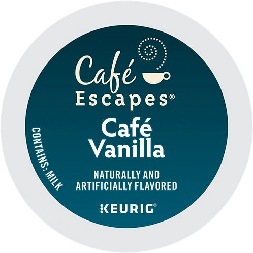 Café Escapes® Café Vanilla - K-Cup® - Regular - Specialty - 24ct