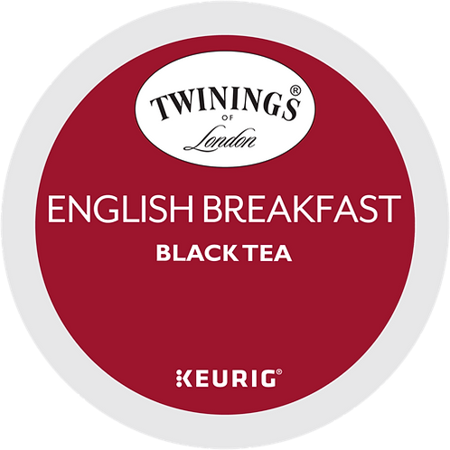 Twinings® English Breakfast Tea - K-Cup® - Regular - Black Tea - 24ct
