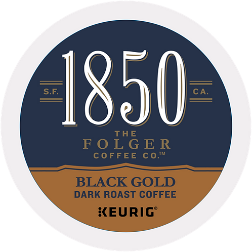 1850® Brand Coffee Black Gold Coffee - K-Cup® - 16ct